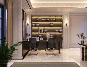 thiết kế nội thất biệt thự Cityland Park Hills tầng 1 4