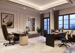 thiết kế nội thất biệt thự Cityland Park Hills tầng 1 3