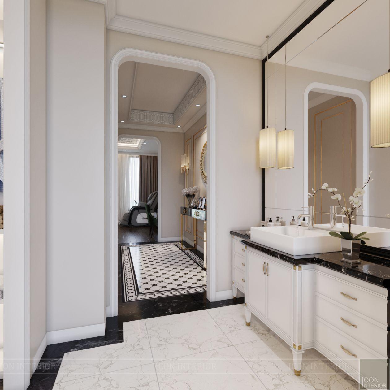 thiết kế biệt thự lavila nam sài gòn - phòng tắm 6