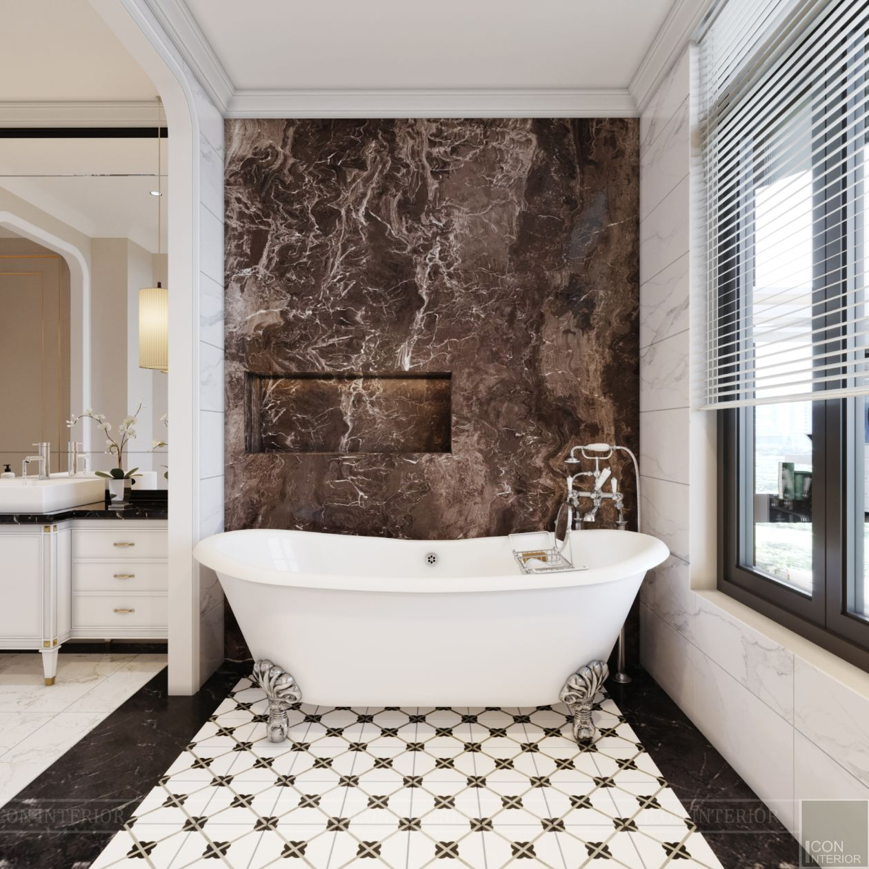 thiết kế biệt thự lavila nam sài gòn - phòng tắm 5