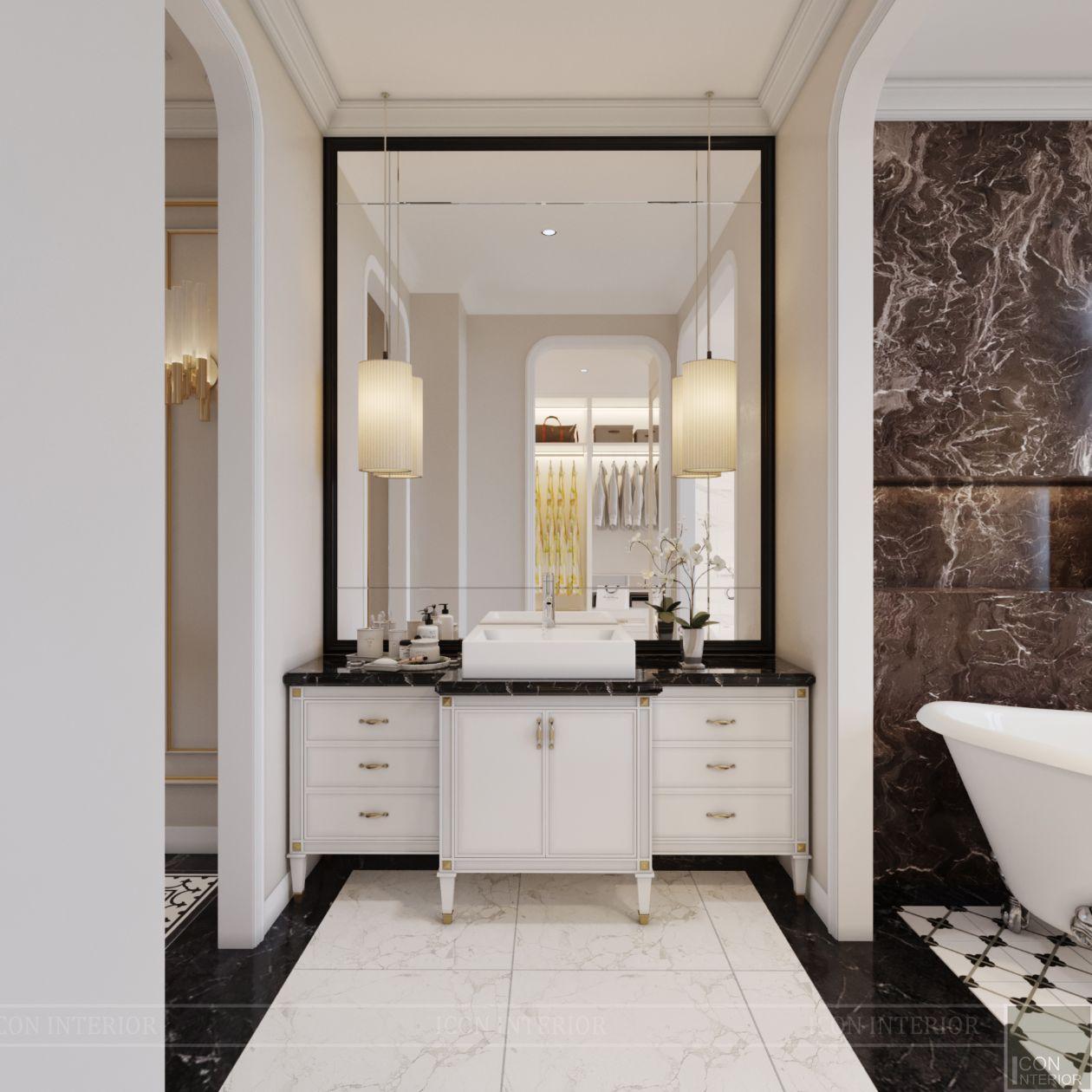 thiết kế biệt thự lavila nam sài gòn - phòng tắm 4