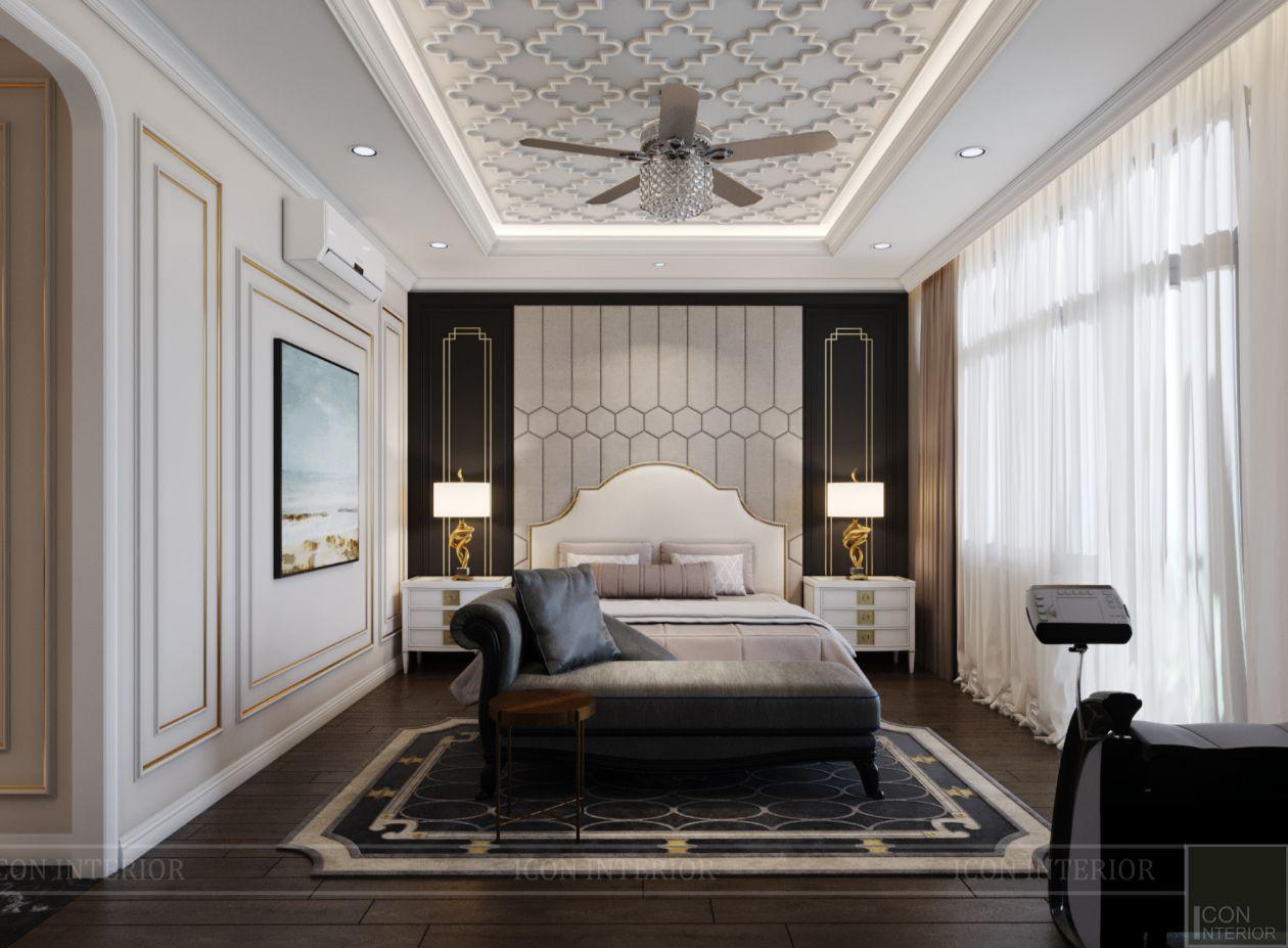 thiết kế biệt thự lavila nam sài gòn - phòng ngủ master 1