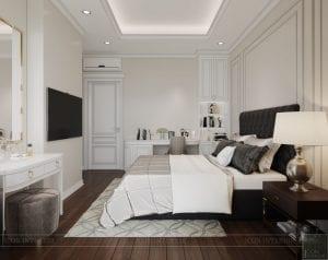 thiết kế biệt thự lavila nam sài gòn - phòng ngủ 5