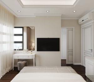 thiết kế biệt thự lavila nam sài gòn - phòng ngủ 3
