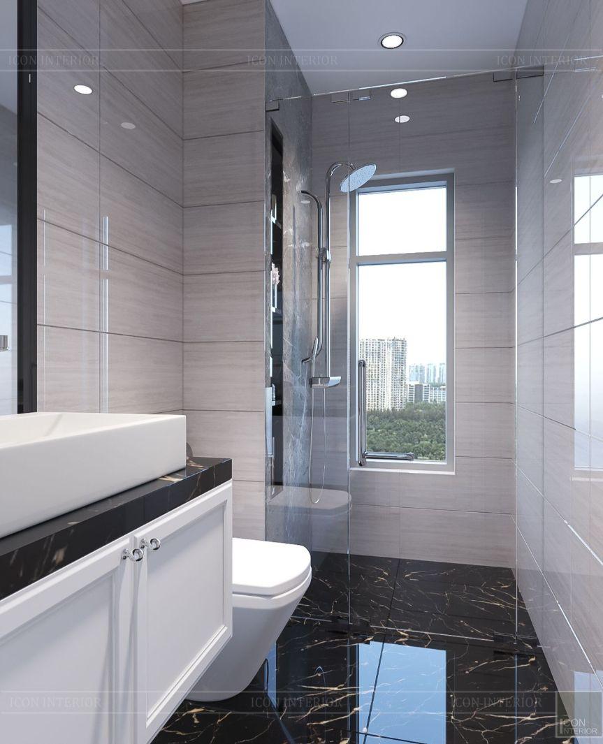 thiết kế biệt thự lavila nam sài gòn - phòng tắm 1