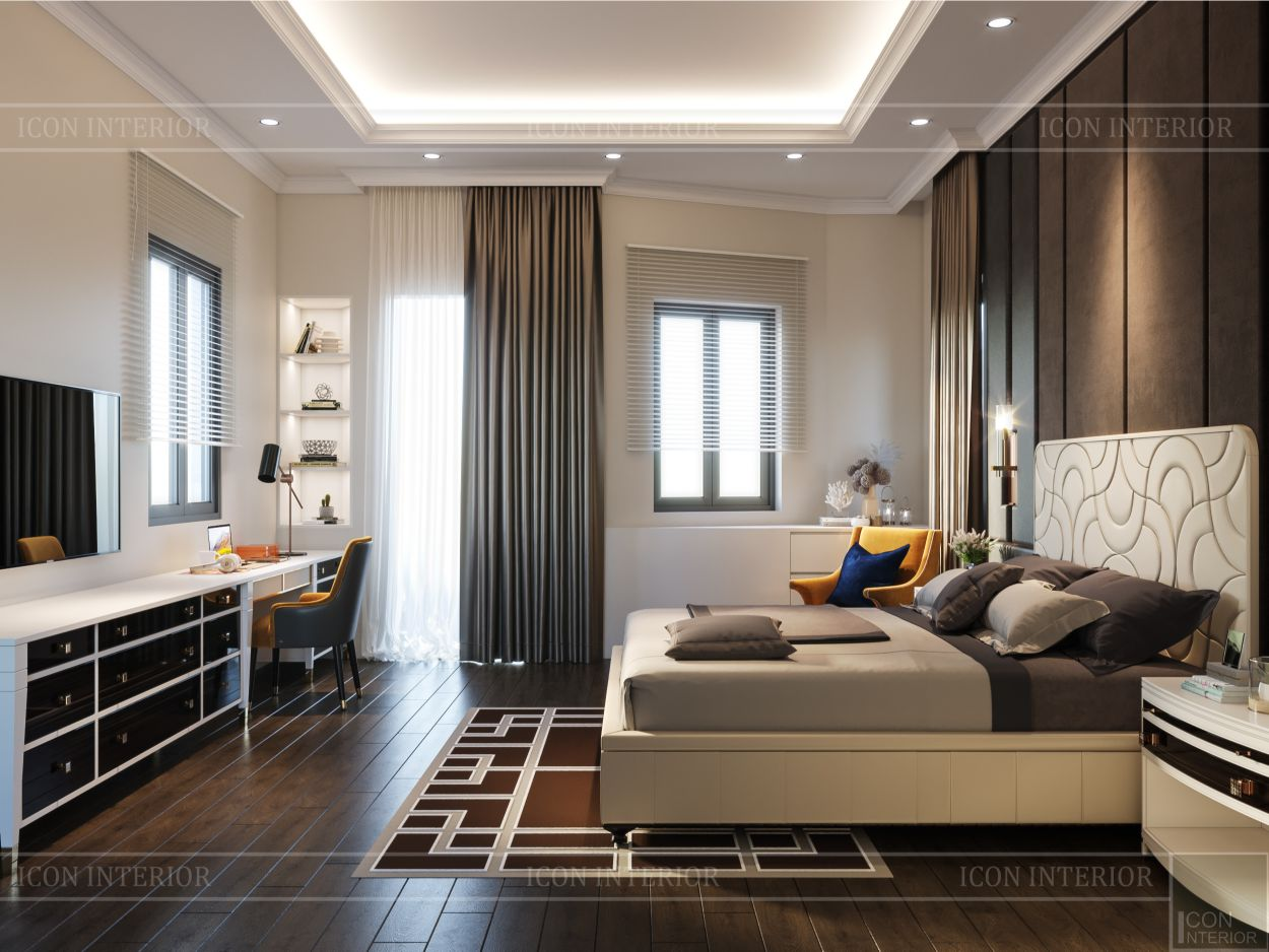 nội thất theo phong cách hiện đại
