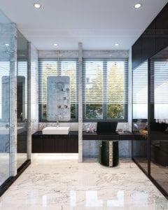 thiết kế nội thất biệt thự sân vườn - phòng tắm 5