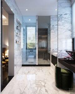 thiết kế nội thất biệt thự sân vườn - phòng tắm 6