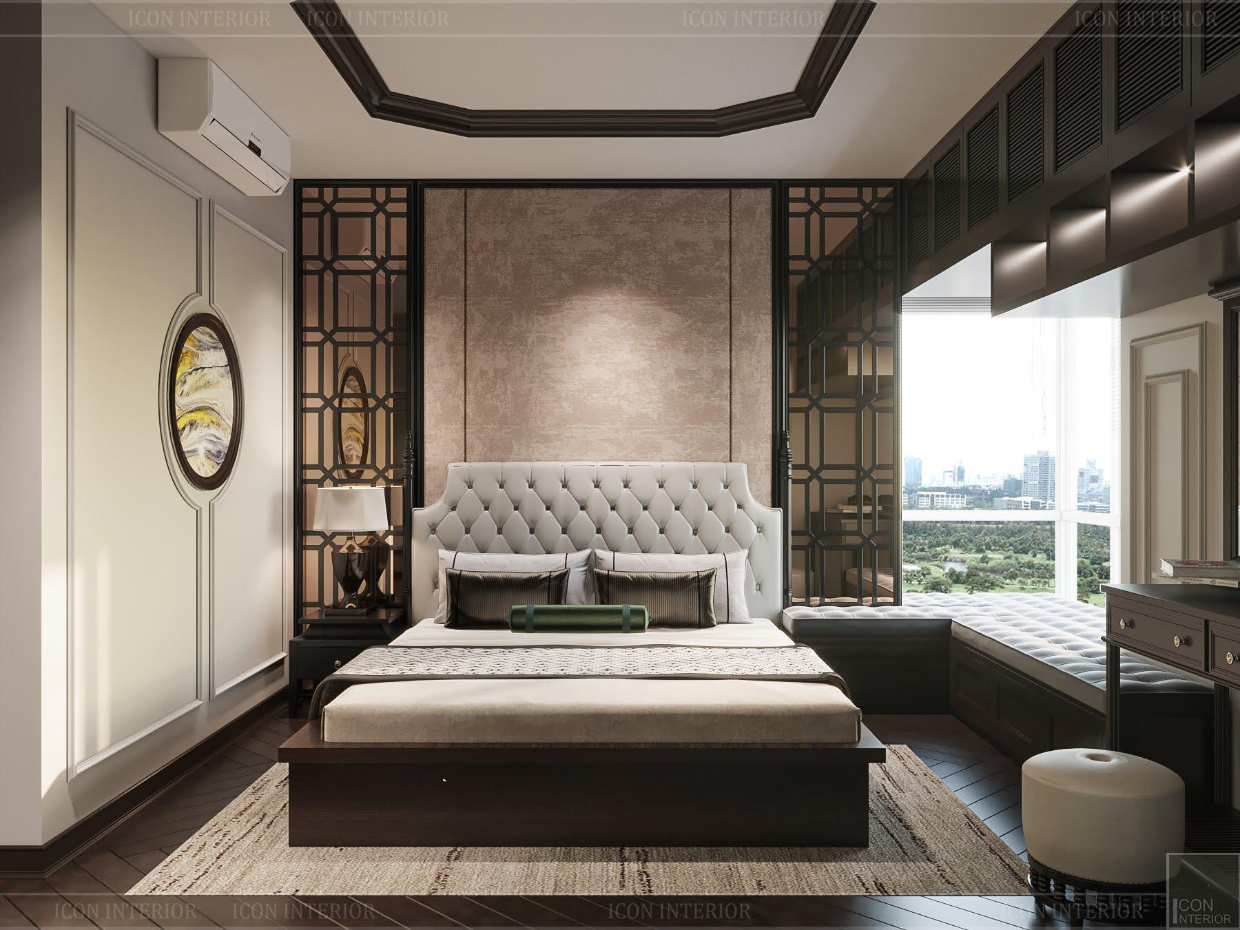 thiết kế căn hộ đập thông - phòng ngủ master 1