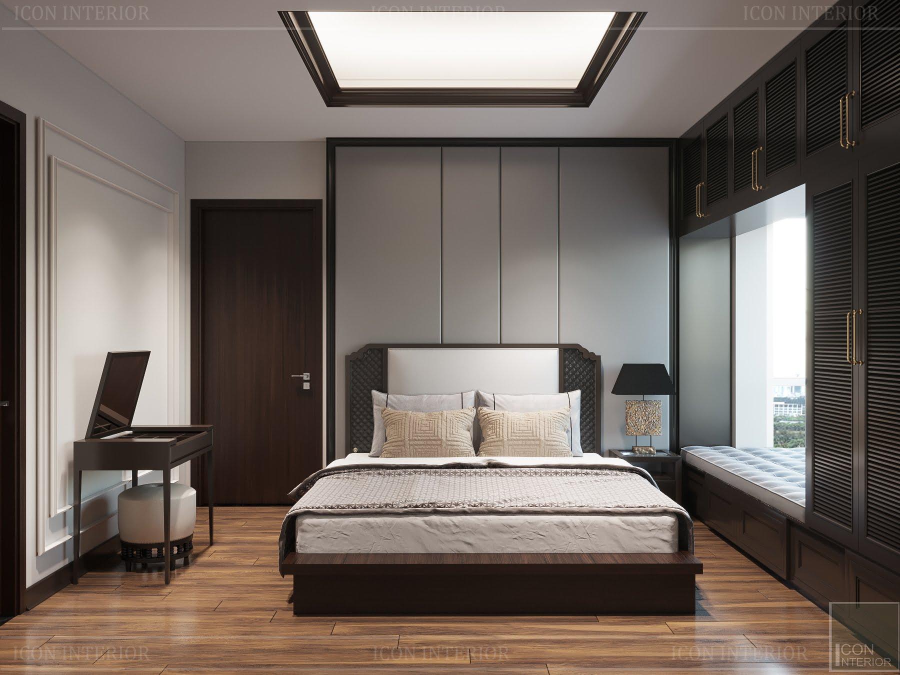 thiết kế căn hộ đập thông - phòng ngủ nhỏ