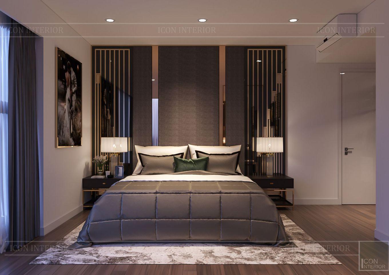 Thiết kế nội thất căn hộ Saigon Royal Residence - phongd master