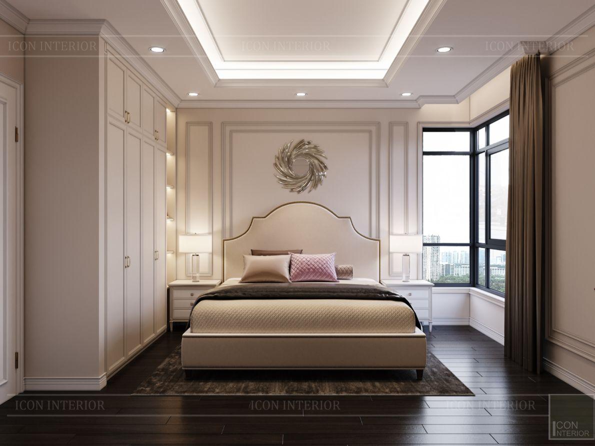 thiết kế nội thất nhà phố tân cổ điển - phòng ngủ 13