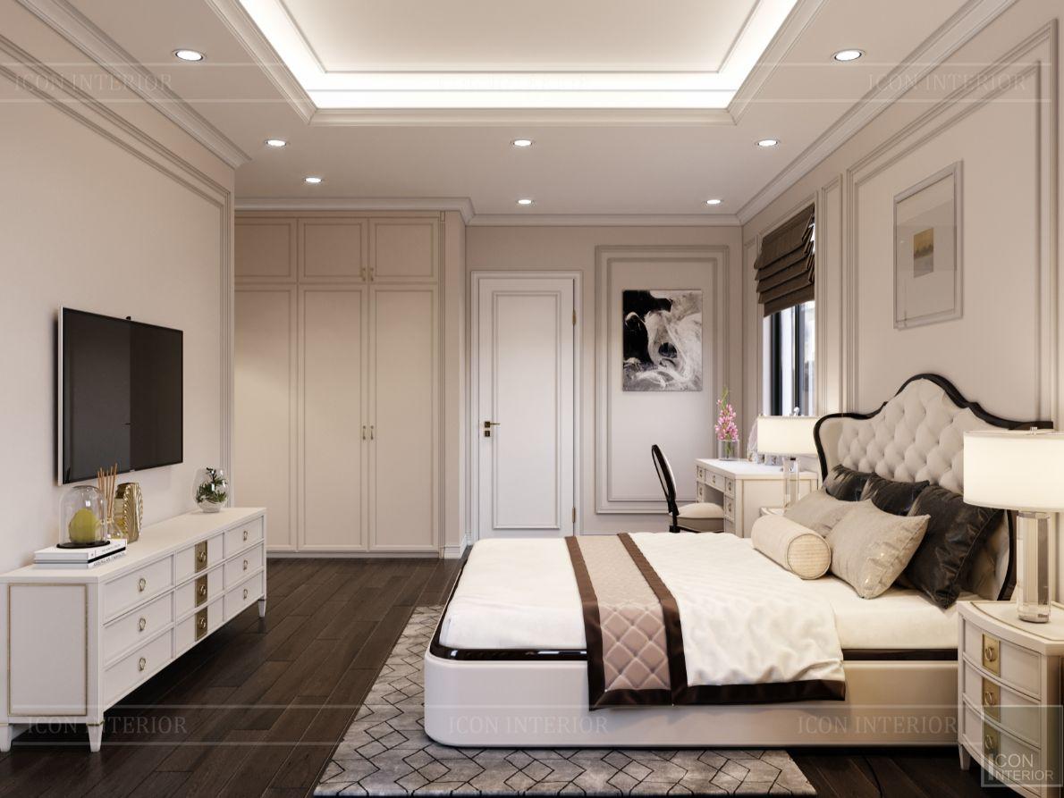 thiết kế nội thất nhà phố tân cổ điển - phòng ngủ 10