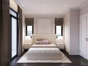 thiết kế nội thất nhà phố tân cổ điển - phòng ngủ 7