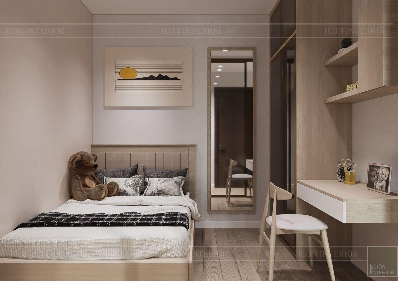 thiết kế nội thất theo phong cách tối giản - phòng ngủ 7