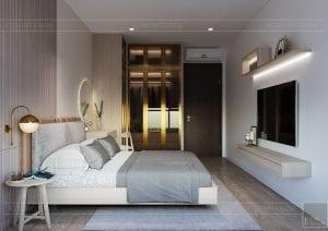 thiết kế nội thất theo phong cách tối giản - phòng ngủ 4