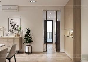 thiết kế nội thất theo phong cách tối giản - phòng khách bếp 6