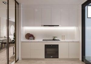 thiết kế nội thất theo phong cách tối giản - phòng khách bếp 7