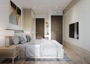 thiết kế nội thất theo phong cách tối giản - phòng ngủ master 4
