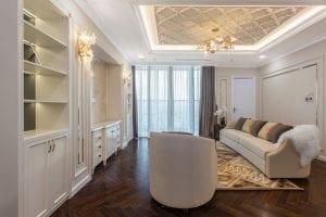 thiết kế thi công nội thất đẹp - phòng khách 2