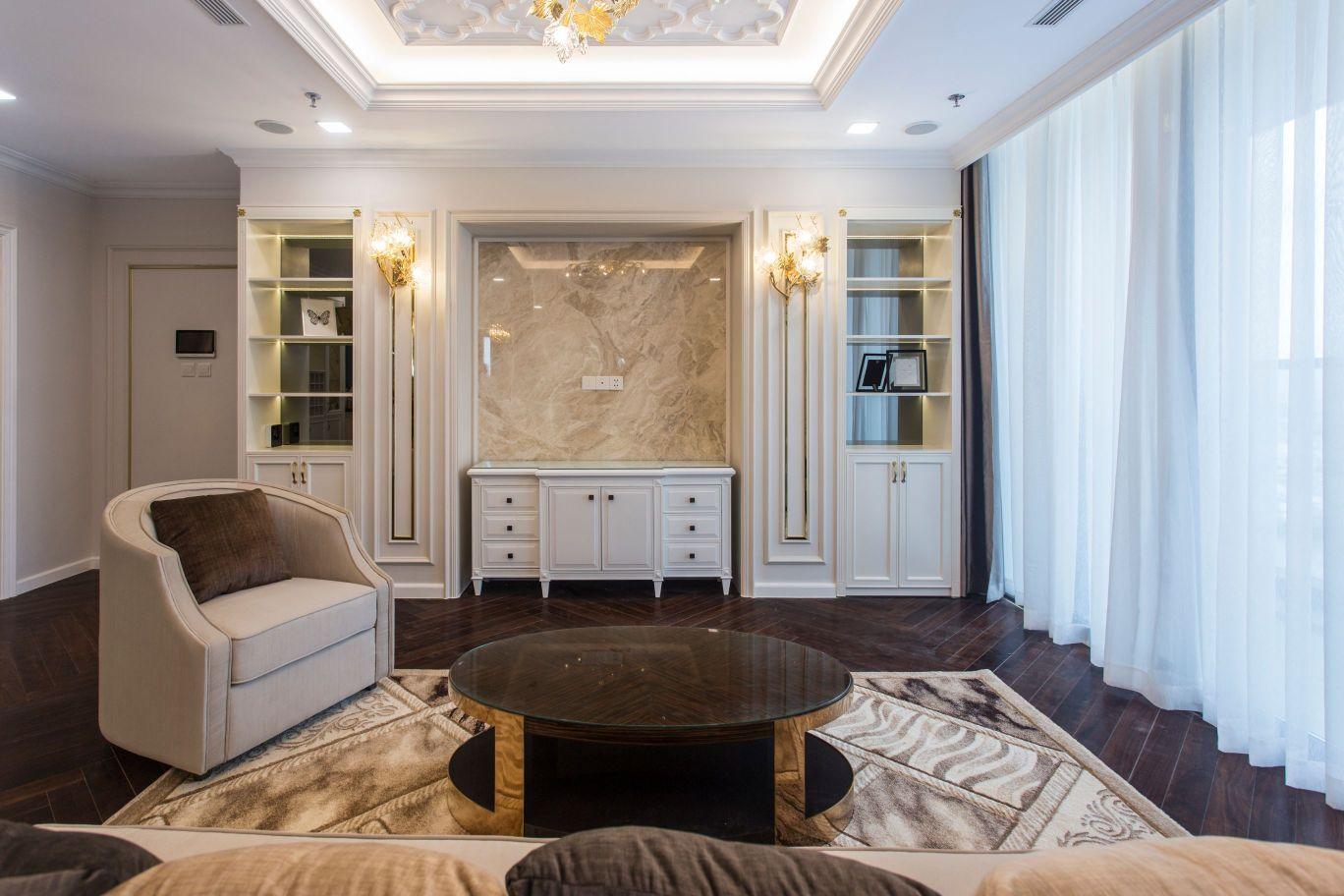 thiết kế thi công nội thất đẹp - phòng khách 3