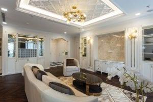 thiết kế thi công nội thất đẹp - phòng khách 4