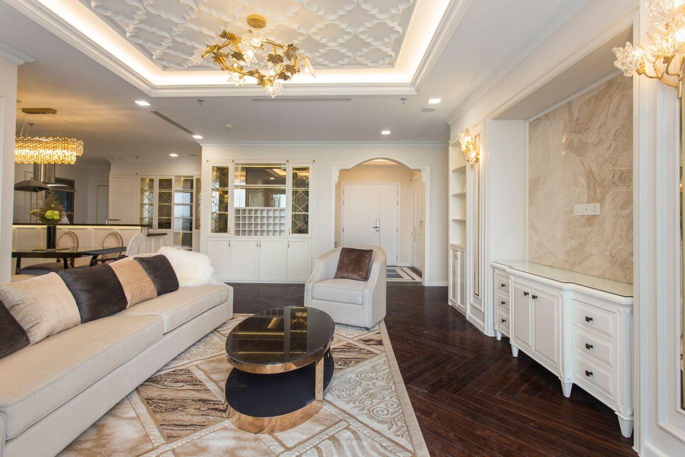 thiết kế thi công nội thất đẹp - phòng khách 1