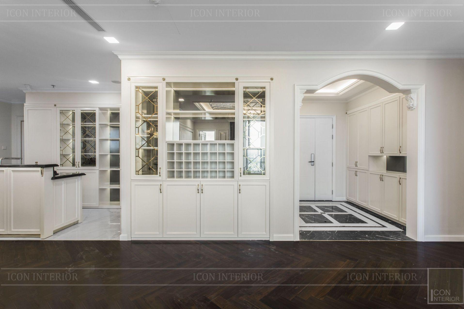 thiết kế thi công nội thất đẹp - tủ rượu