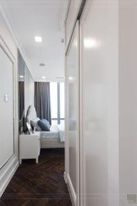 thiết kế thi công nội thất đẹp - phòng ngủ master 3
