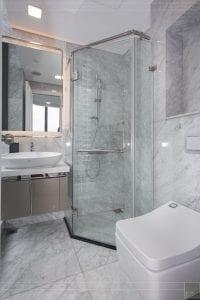 thiết kế thi công nội thất đẹp - phòng tắm master