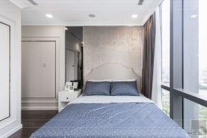 thiết kế thi công nội thất đẹp - phòng ngủ master 2