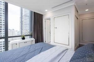 thiết kế thi công nội thất đẹp - phòng ngủ master 1