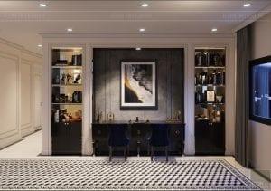 tư vấn thiết kế nội thất biệt thự lavilla green city - hành lang 3