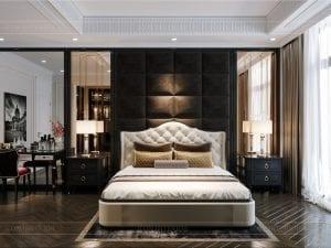 tư vấn thiết kế nội thất biệt thự lavilla green city - phòng ngủ master 2