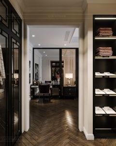 tư vấn thiết kế nội thất biệt thự lavilla green city - phòng ngủ master 6