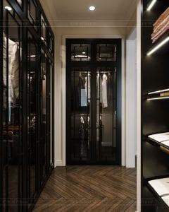 tư vấn thiết kế nội thất biệt thự lavilla green city - tủ quần áo