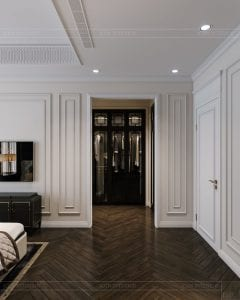 tư vấn thiết kế nội thất biệt thự lavilla green city - phòng ngủ master 5
