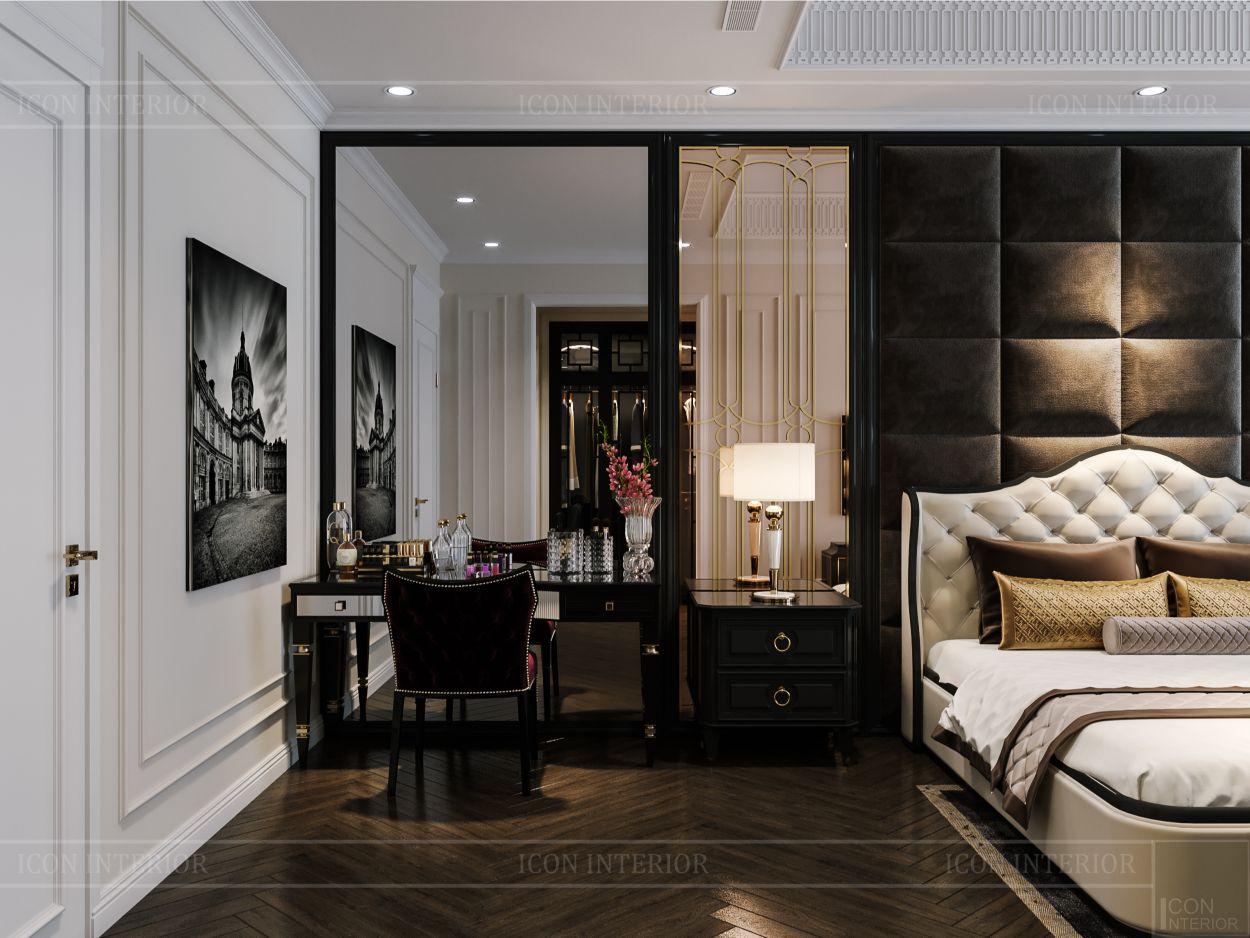 tư vấn thiết kế nội thất biệt thự lavilla green city - phòng ngủ master 4