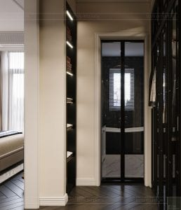tư vấn thiết kế nội thất biệt thự lavilla green city - phòng tắm master 1