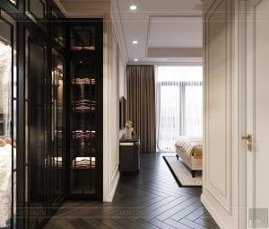 tư vấn thiết kế nội thất biệt thự lavilla green city - phòng ngủ nhỏ 1