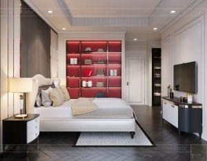 tư vấn thiết kế nội thất biệt thự lavilla green city - phòng ngủ nhỏ 4