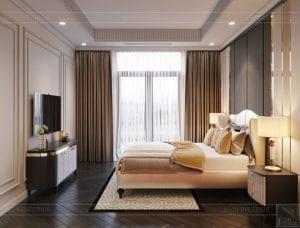 tư vấn thiết kế nội thất biệt thự lavilla green city - phòng ngủ nhỏ 2