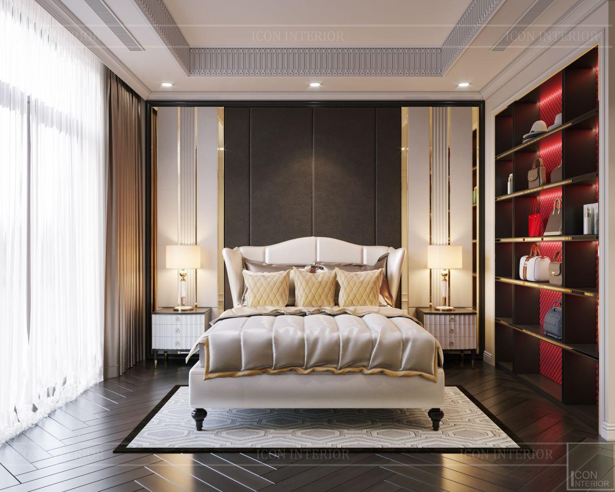 tư vấn thiết kế nội thất biệt thự lavilla green city - phòng ngủ nhỏ 3