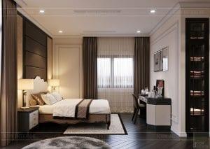 tư vấn thiết kế nội thất biệt thự lavilla green city - phòng ngủ nhỏ 8