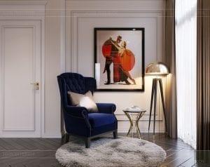 tư vấn thiết kế nội thất biệt thự lavilla green city - phòng ngủ nhỏ 9