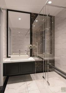 tư vấn thiết kế nội thất biệt thự lavilla green city - phòng tắm 4