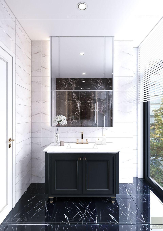 tư vấn thiết kế nội thất biệt thự lavilla green city - phòng tắm 6