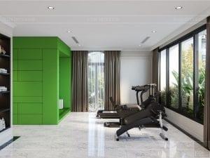 tư vấn thiết kế nội thất biệt thự lavilla ggym và golf 2