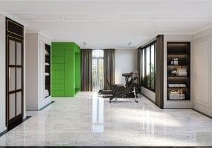 tư vấn thiết kế nội thất biệt thự lavilla ggym và golf 1reen city -
