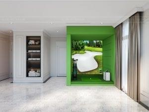 tư vấn thiết kế nội thất biệt thự lavilla ggym và golf 3